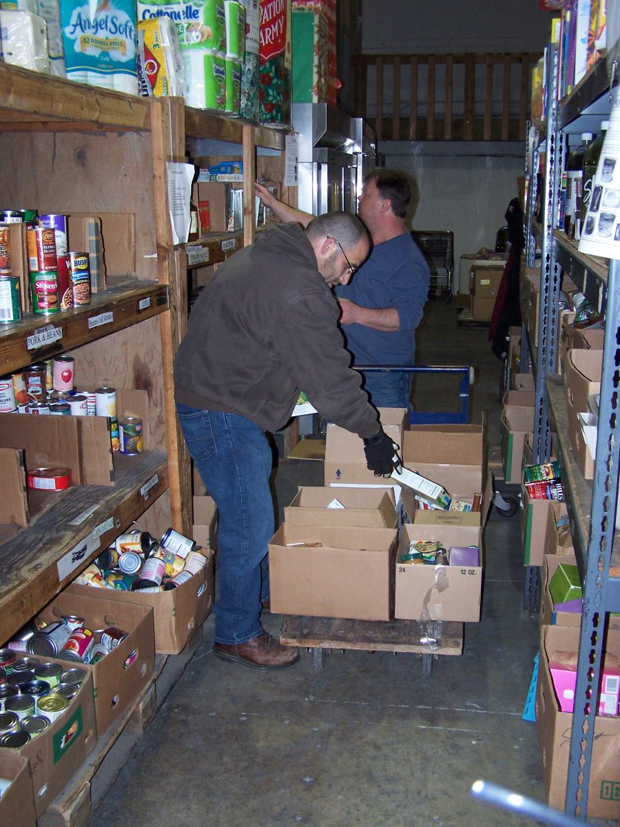 RSVP Volunteers are vital to providing support to area Food Banks
